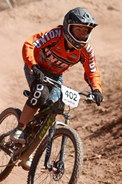 Elisa Otter finished third in the Division II women's dual slalom