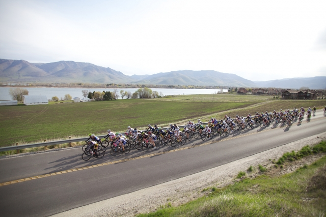 The road races were in picturesque Ogden-Cathy Kim