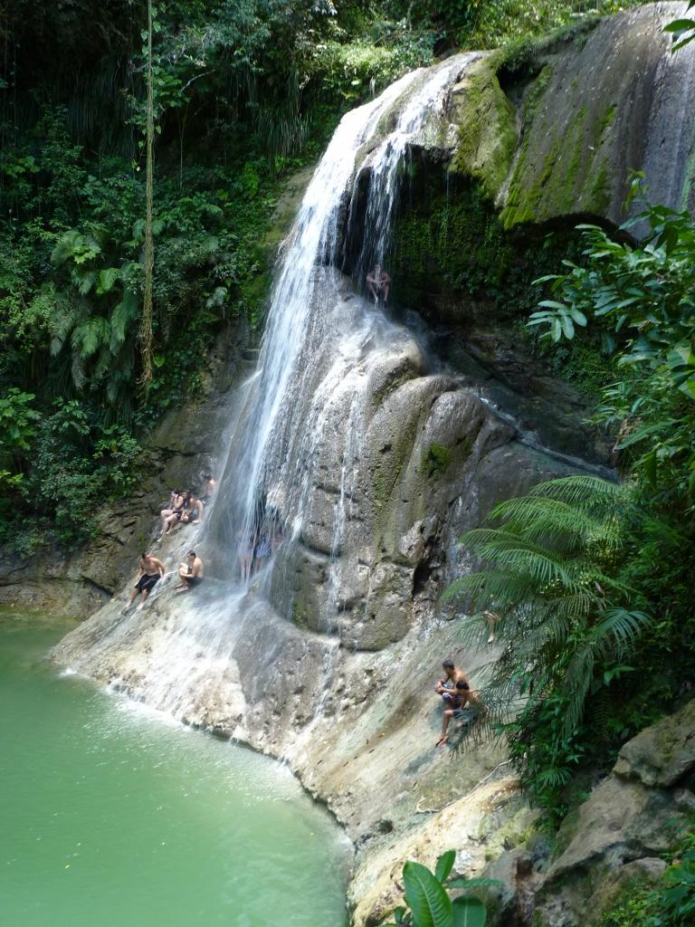Cascada gozalandia for Turismo interno p r