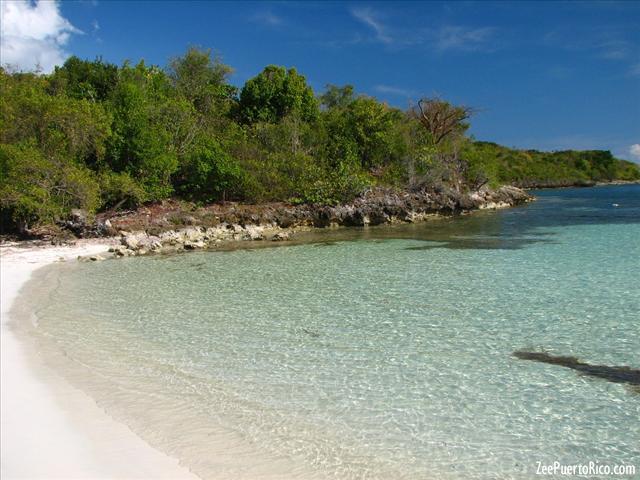 Media Luna Beach Vieques