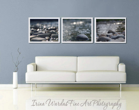 Dark gray wall decor