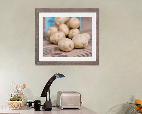 Rustic Food Photography, Kitchen Picture, Potatoes Still Life Print, Farmers  Market Vegetable Art ...