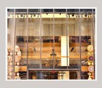 Shop window art, fashion wall art, Italian fashion Dolce & Gabbana store photography, gold wall art, girls room art, bedroom dorm wall decor