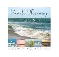 Beach Calendar 2018 ocean themed nautical calendar, coastal decor photography, photo calendar, mini desk calendar, 5x7 calender 4x6, gift