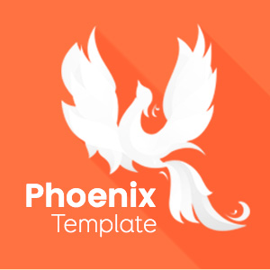 Landing Page for Phoenix Template - [V4]
