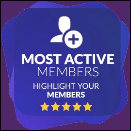 Most Active Members - cespiritual