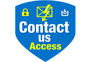Contact us Access, Stop spam to contact us form