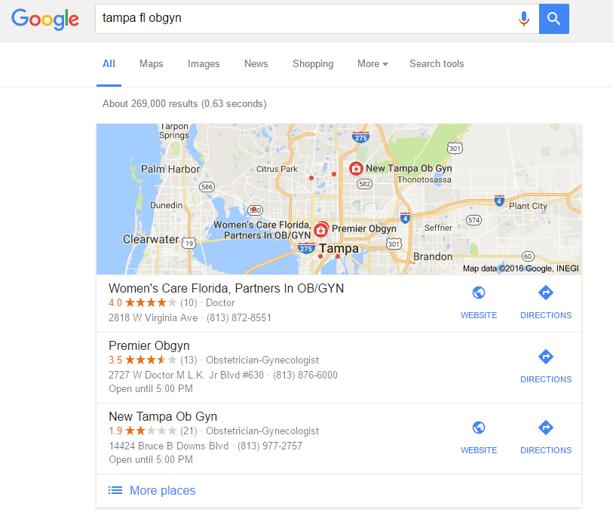 Claim your address on Google My Business (GMB)