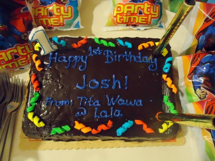 LOVEs Haven Joshuas Birthday Cakes