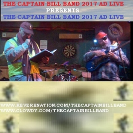 The Captain Bill Band 2016 Ad Live Songwriter Vocals