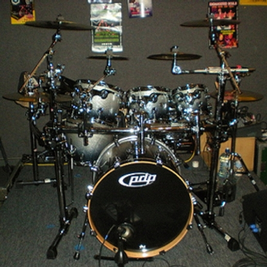 Chris Jamison Drums This Is My New Pdp X7 7 Pc Kit W Silver To