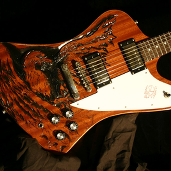 Roeller\'S Custom Guitars - Guitar - Firebird Body Mod