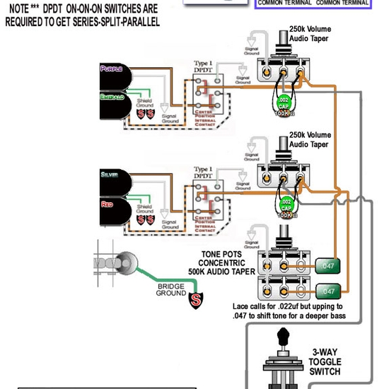 brian presley - guitar - wiring diagram for lace dually 2v ... free download lace sensor wiring schematics