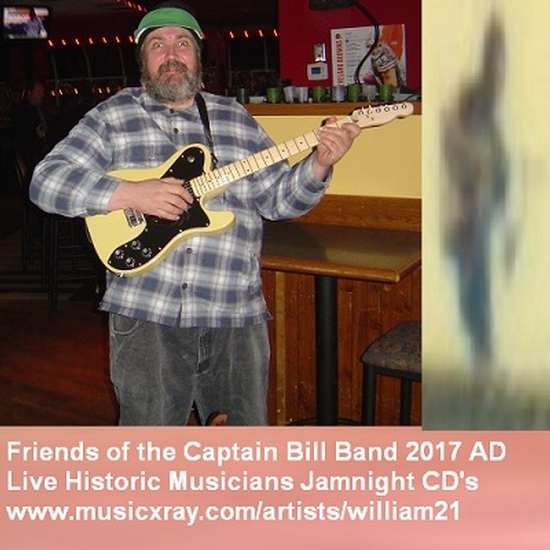 The Captain Bill Band 2019 2025 Ad Live Friends Of The