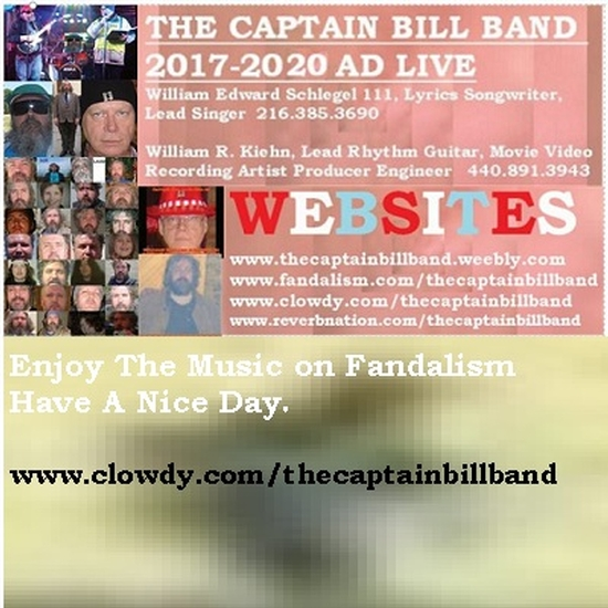 The Captain Bill Band 2019 2025 Ad Live The Captain Bill Band 2017 Ad Live And Friends