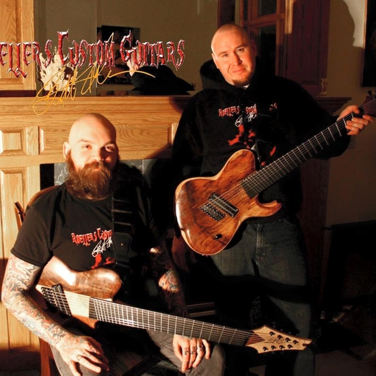 Roeller'S Custom Guitars - Guitar - Me and Eric with the RCG