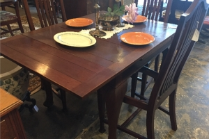 Mahogany Draw Leaf Dining Table
