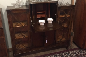 Antique Library Hutch