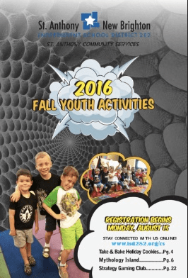 Fall 2016 Youth Brochure