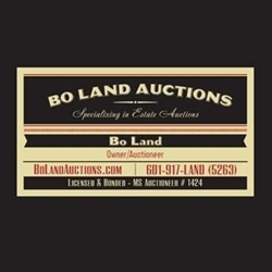 Bo Land Auctions Logo