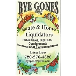 Bye Gones Estate & Moving Sales Logo