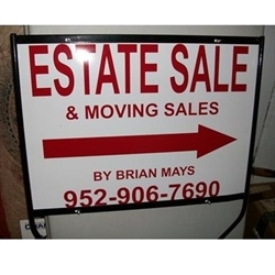 Brian Mays Estate & Moving Sales Logo