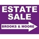 Brooks & Moore Estate Sales and Services Logo