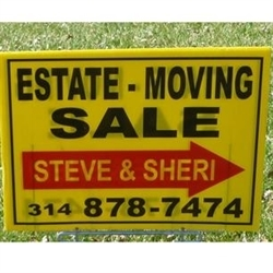 Estate Sales by Steve & Sheri Logo