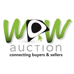 WOW Auction & Estate Sales Logo