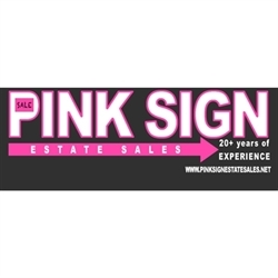 Pink Sign Estate Sales Logo