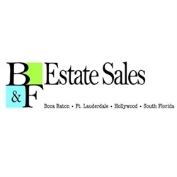 B&F Estate Sales Logo