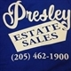 Presley Estate Sales & Auctions Logo