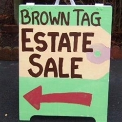 Brown Tag Estate Sales Logo