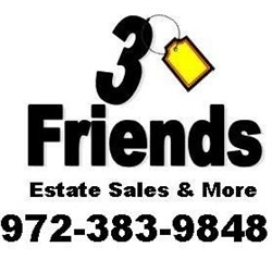 3 Friends: Estate Sales & More Logo