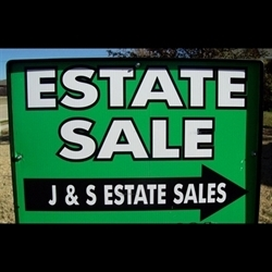 J & S Estate Sales Logo