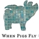 When Pigs Fly Estate, Consignment & Auctions Logo