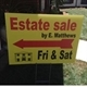 Estate Sales By E. Matthews Logo
