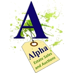 Alpha Estate Sales and Auctions Logo