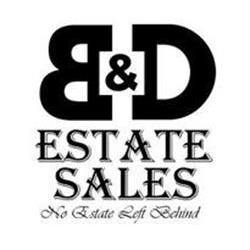 B & D Estate Sales, LLC Logo