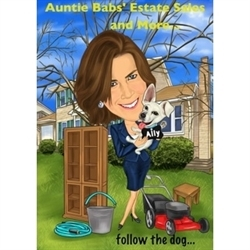 Auntie Babs' Estate Sales And More... Logo