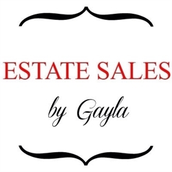 Estate Sales and Online Liquidations By Gayla Logo