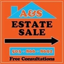 A&S Estate Sales Of Oregon Logo