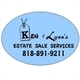 Ken & Lynn's Estate Sale Services Logo