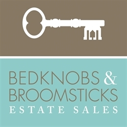 Bedknobs & Broomsticks Estate Sales Logo