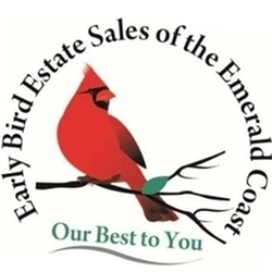 Early Bird Estate Sales Of The Emerald Coast Logo