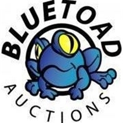 Blue Toad Auctions Logo
