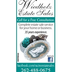 Wiedholz Estate Sales Logo