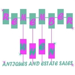 Remember When Antiques And Estate Sales, LLC Logo
