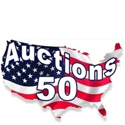 Auctions50 Logo