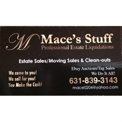Mace's Stuff Estate Sales Logo